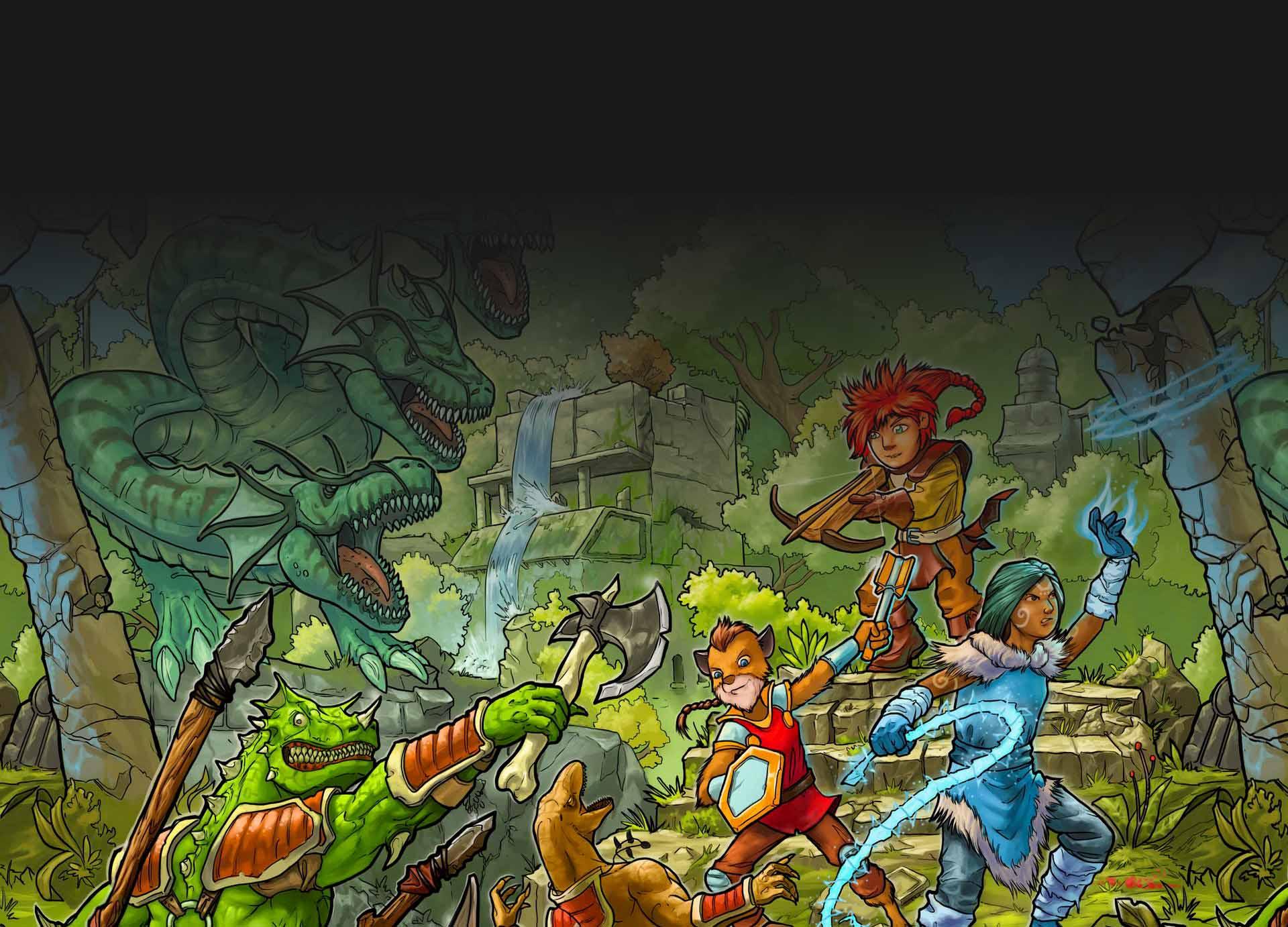 Monster Compendium Cover