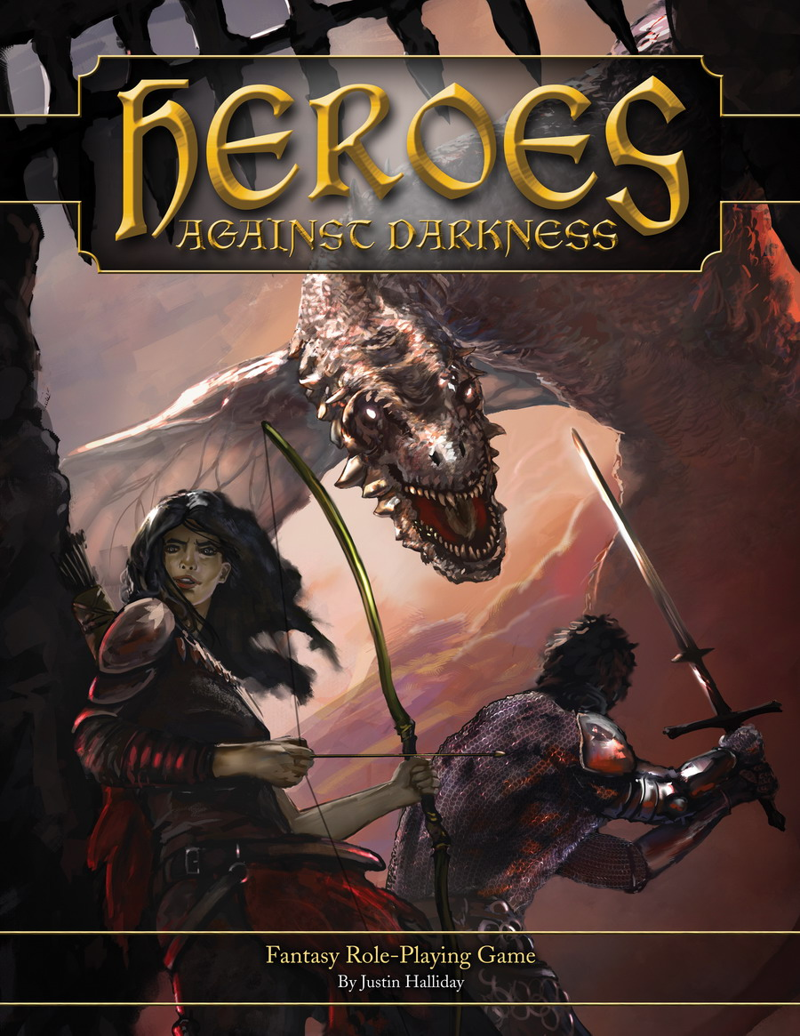 Heroes Against Darkness - Cover