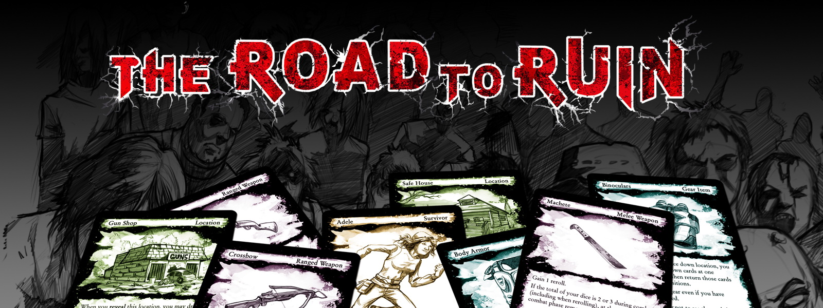 The Road to Ruin - Banner
