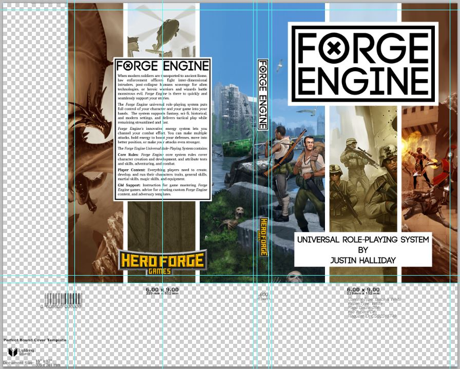 Forge Engine - Cover layout