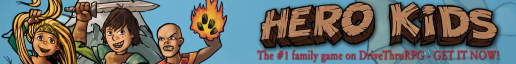 Hero Kids horizontal banner