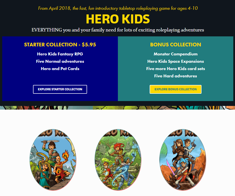 Hero Kids Bundle of Holding 2020 Image