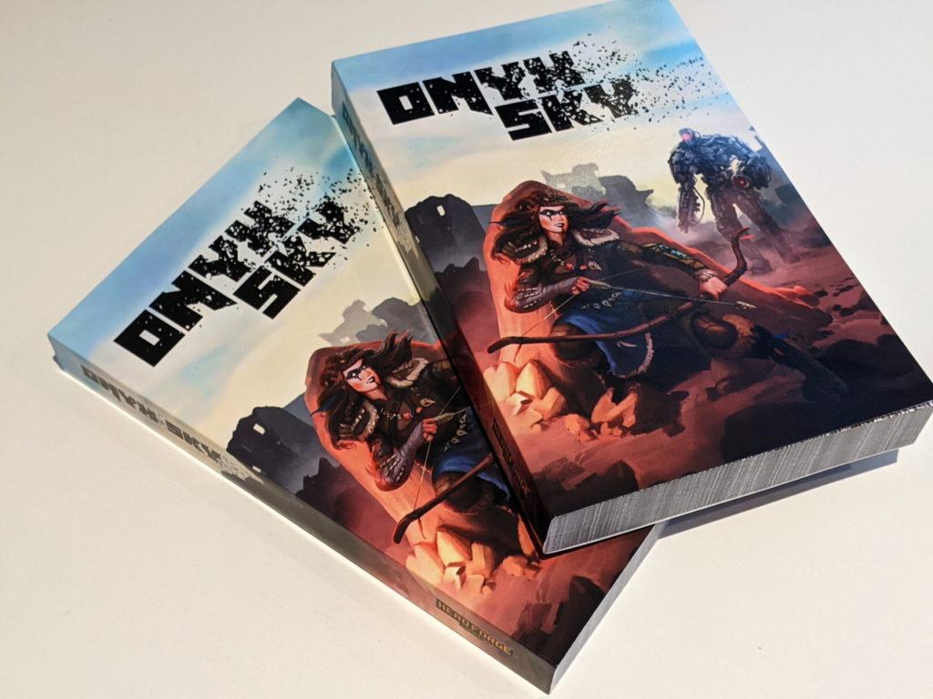 Onyx Sky Print